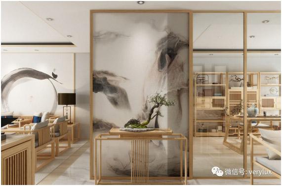 艺术壁材应用:新中式的雅